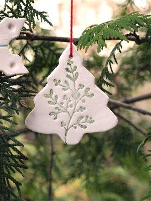 White-Clay-Tree-Ornaments